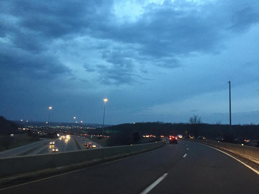 Night Approach  by abiggerline