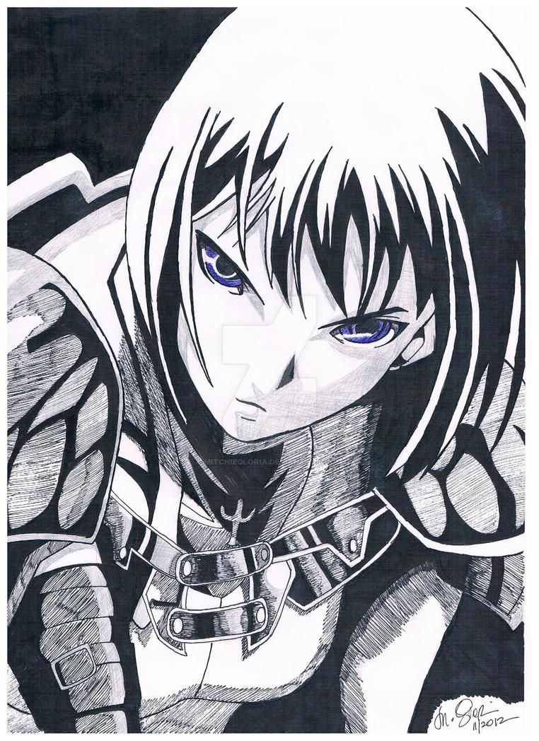 Clare from Claymore :D by mitchiegloria