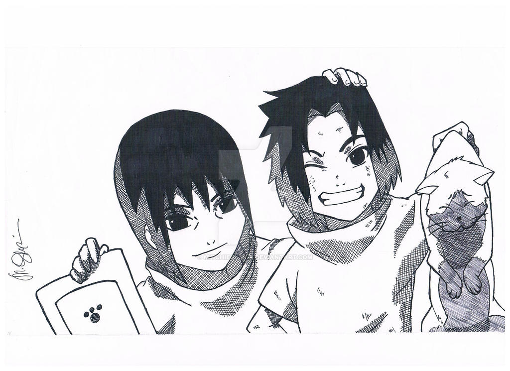 Itachi and Sasuke 1 by mitchiegloria