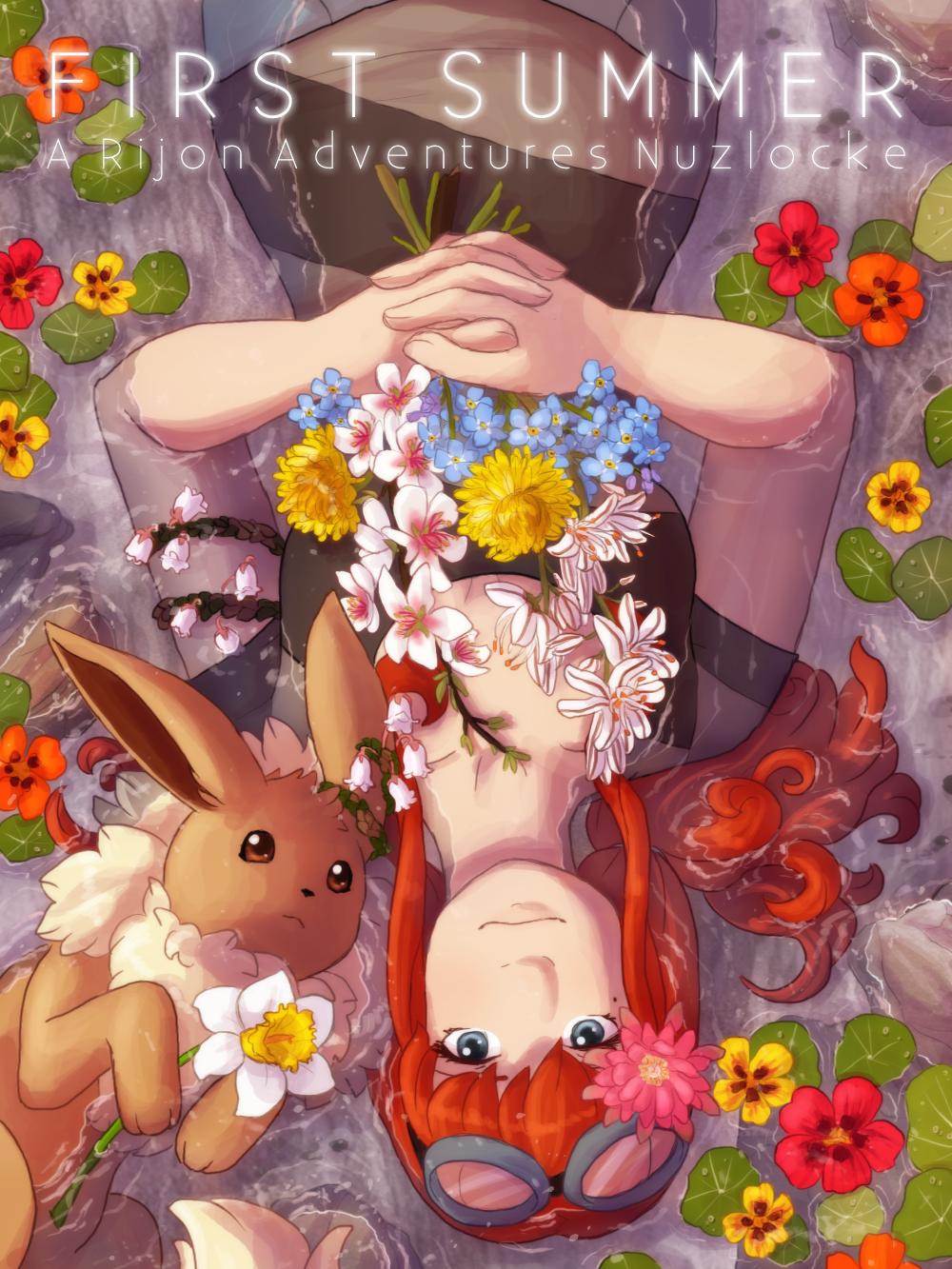First Summer - A Rijon Adventures Nuzlocke [Cover]