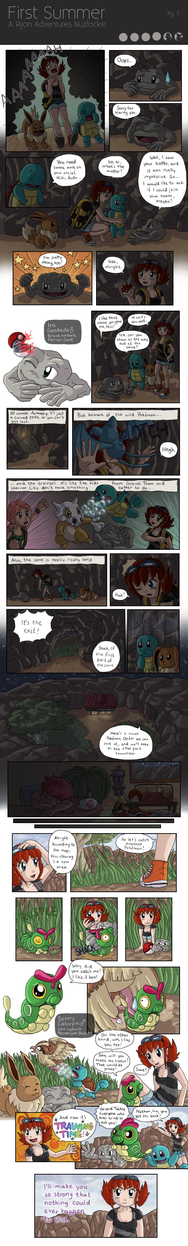 First Summer - A Rijon Adventures Nuzlocke [Pg. 7]