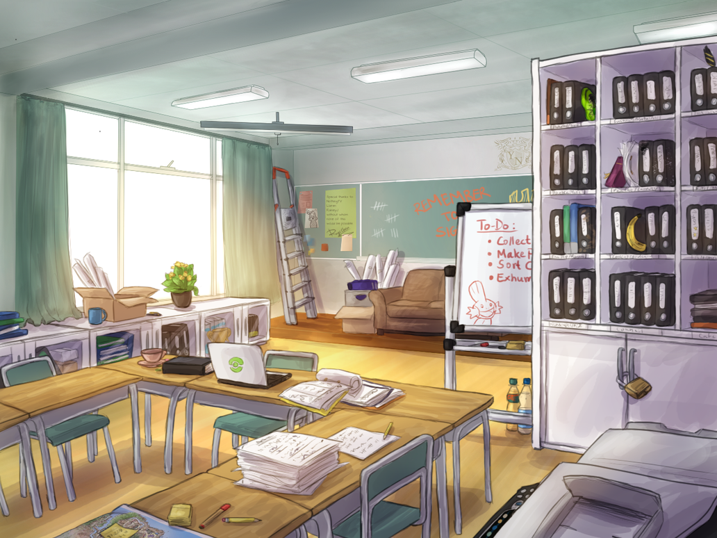 Uta No Prince Sama Nuzlocke_vn___school_council_room_by_krisantyne-d9athjg