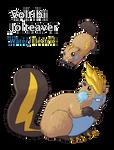 Fakemon Collab: Voltibi and Jolteaver