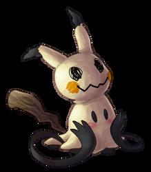 Type Collab: Ghost - Mimikyu by Krisantyne