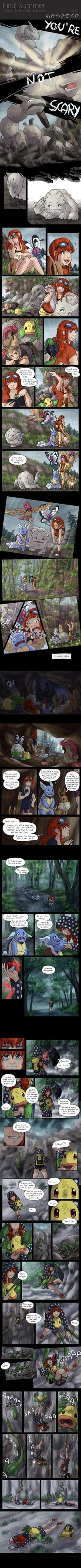 First Summer - A Rijon Adventures Nuzlocke [Pg.27] by Krisantyne