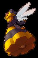 Type Collab: Bug - Vespiquen by Krisantyne
