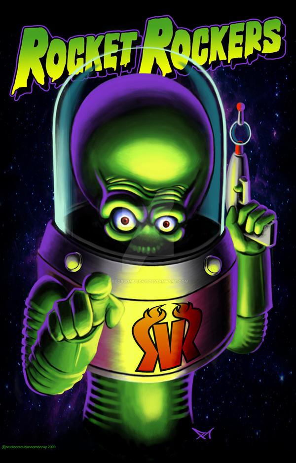 rocket rockers-alienated YOU by blossomdec4y