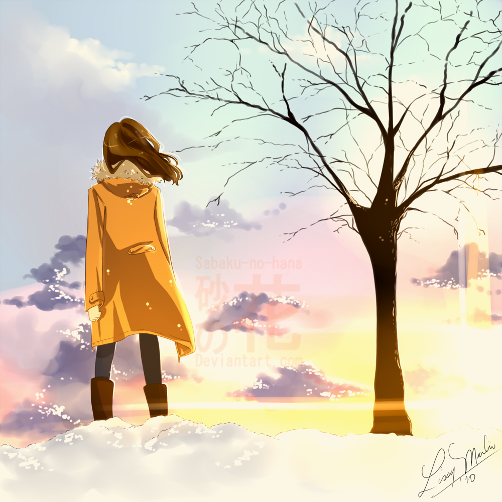 Winter Sky by Sabaku-no-hana