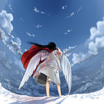 Broken wings by Sabaku-no-hana