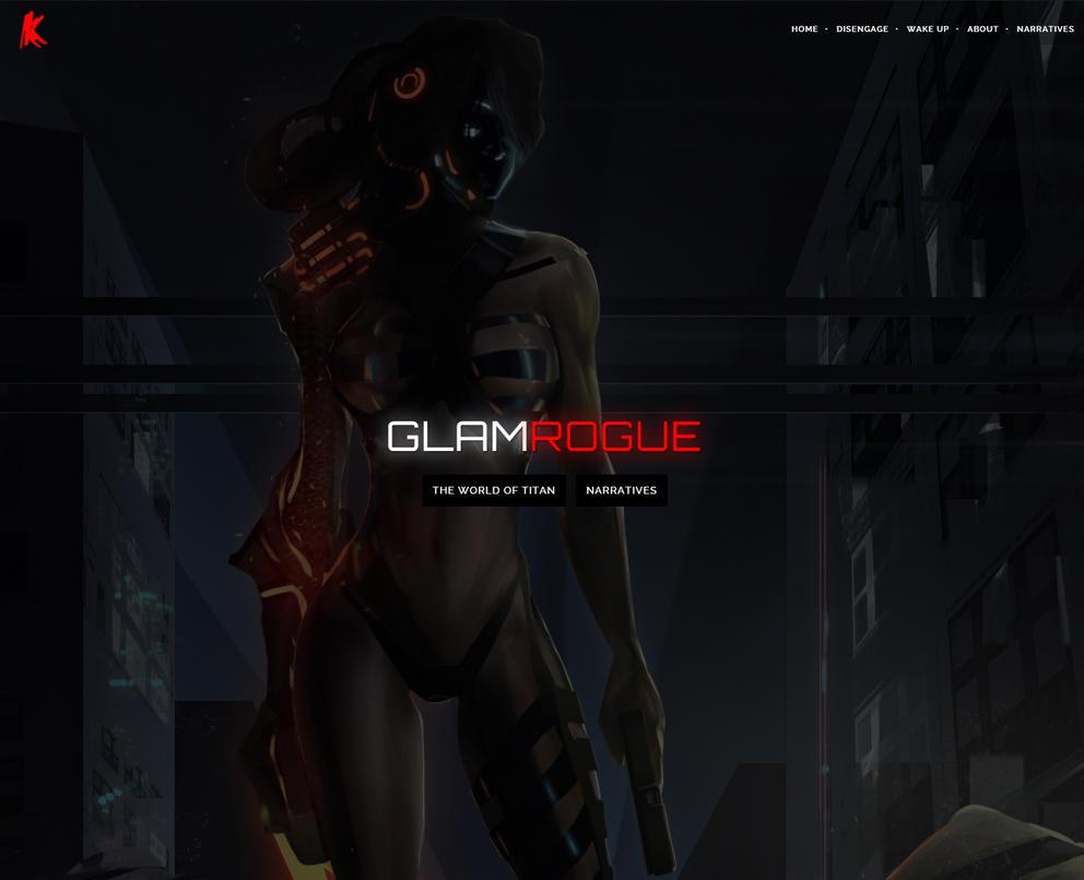GLAMROGUE.COM by thejaxxbox