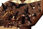 Raucous Ravens Ransack the Research Room