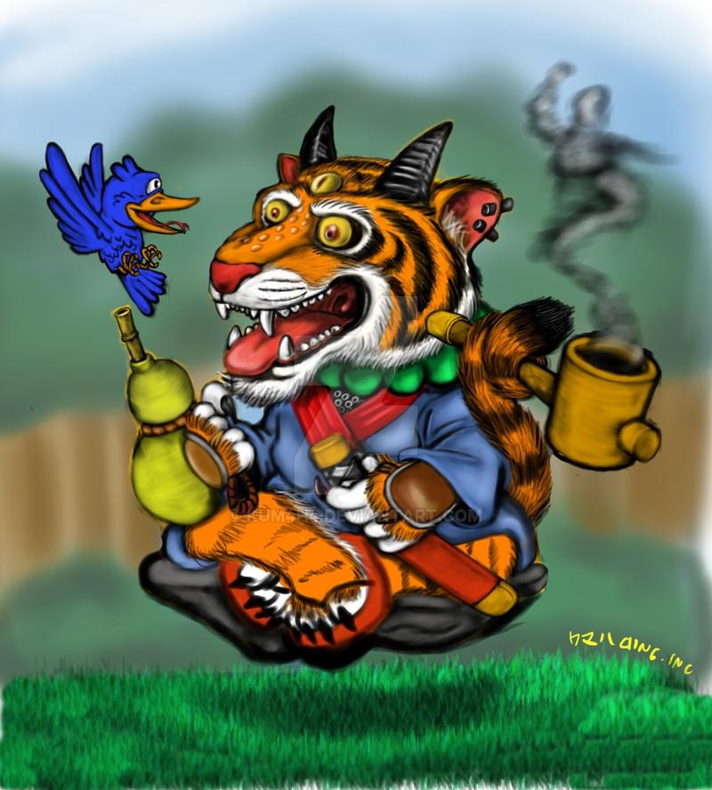 Tigerhermit3 by kum4h4