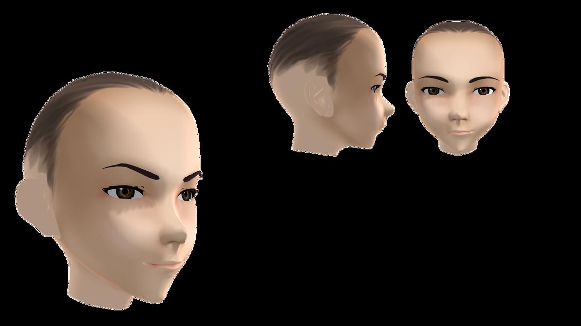 [MMD] Head | Face dl by DmitryCross