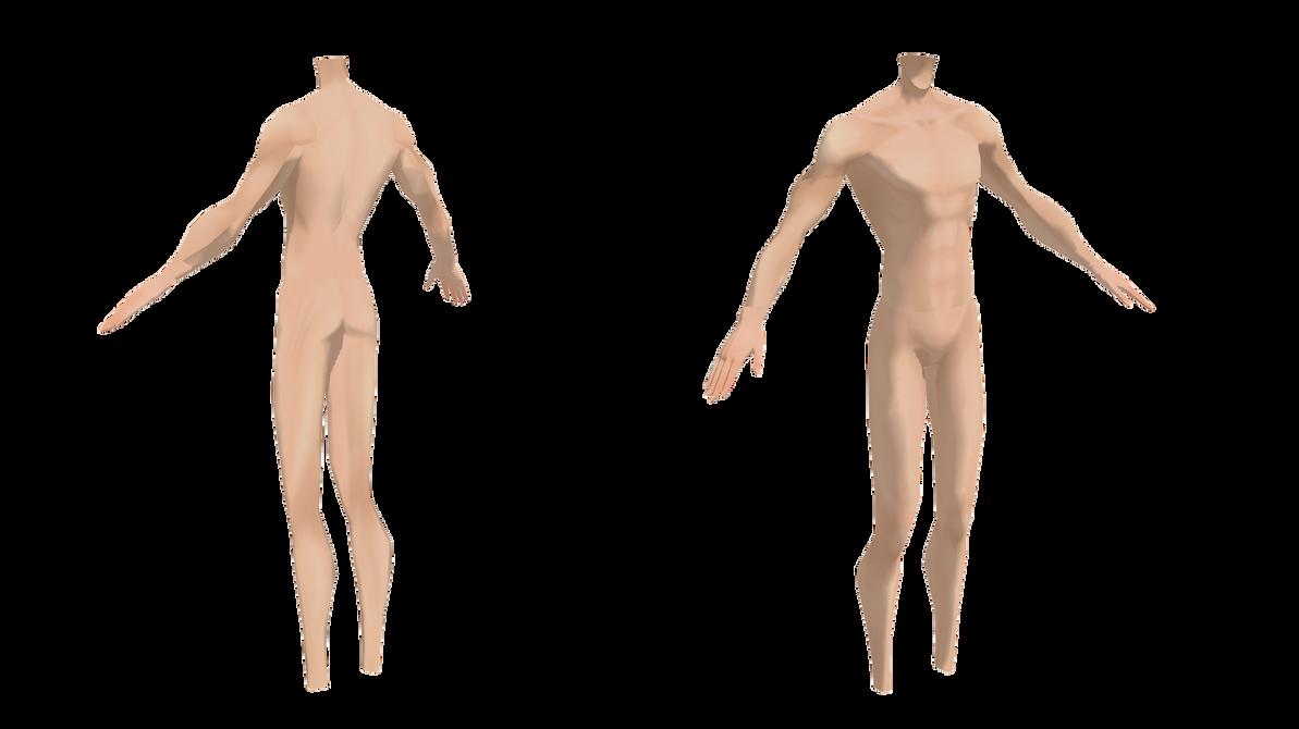 [MMD] Male base | body | MMD | dl by DmitryCross