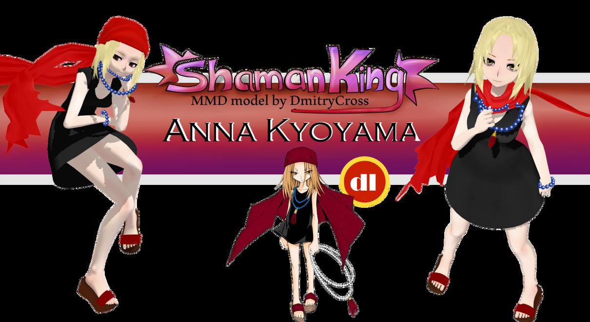 [Shaman] Anna Kyoyama | MMD model dl| Shaman King by DmitryCross