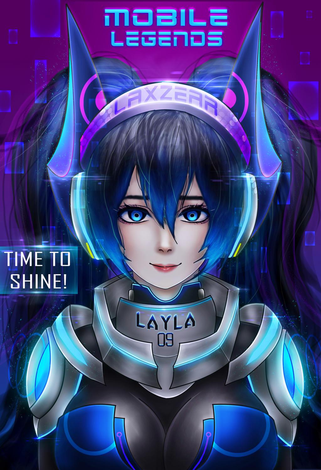 Layla Mobile Legends By Laxzear On DeviantArt Mobile