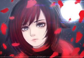 RWBY - Ruby Rose by Laxzear