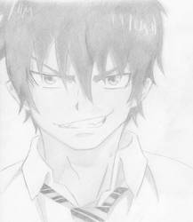 Rin from Blue Exorcist by NightShadow131