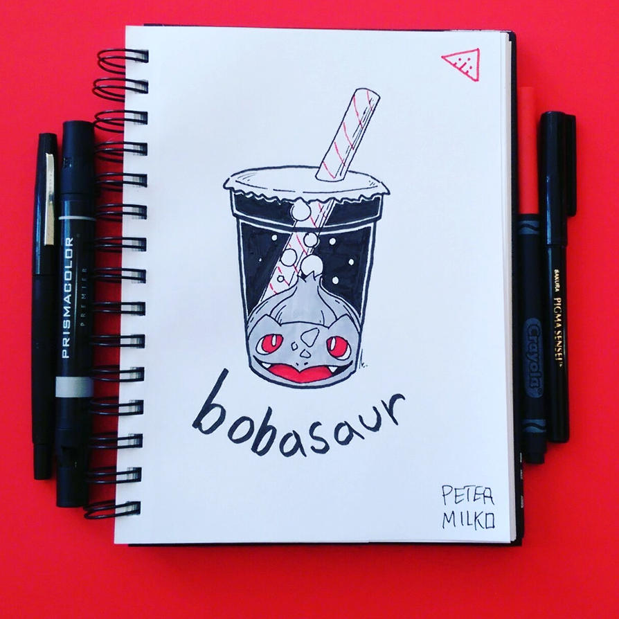 My Weekly Doodle 4 Bobasaur Hope you like it! by PeterMilko