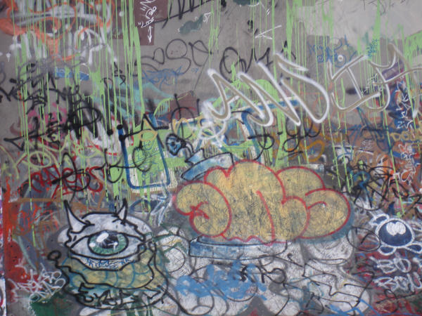 Graffiti Stock -8 by Tefee-Stock