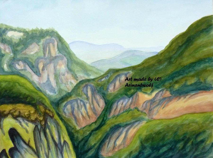 Gorges d'Allier by ArinantWolf