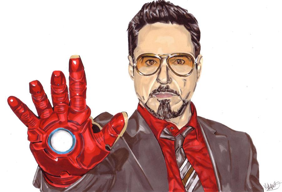 Robert Downey Jr by Thestickibear
