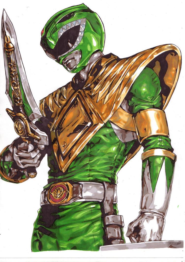 Green Ranger! by Thestickibear