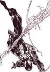 A quick Promarker Spiderman