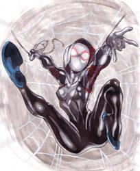 SpiderGwen (Gwen Stacy) by Thestickibear