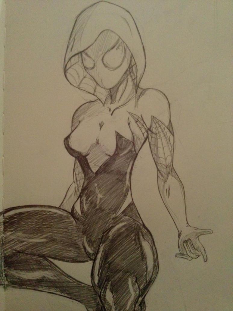 Spider-Gwen by Thestickibear
