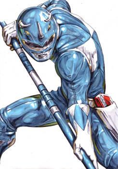 Zyuranger Blue Dan/Mighty Morphin Blue Billy
