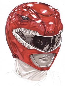 Red Power Ranger/Zyuranger Helmet