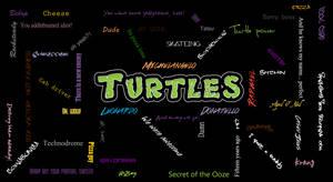 Turtles wall