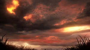 Raging Sky