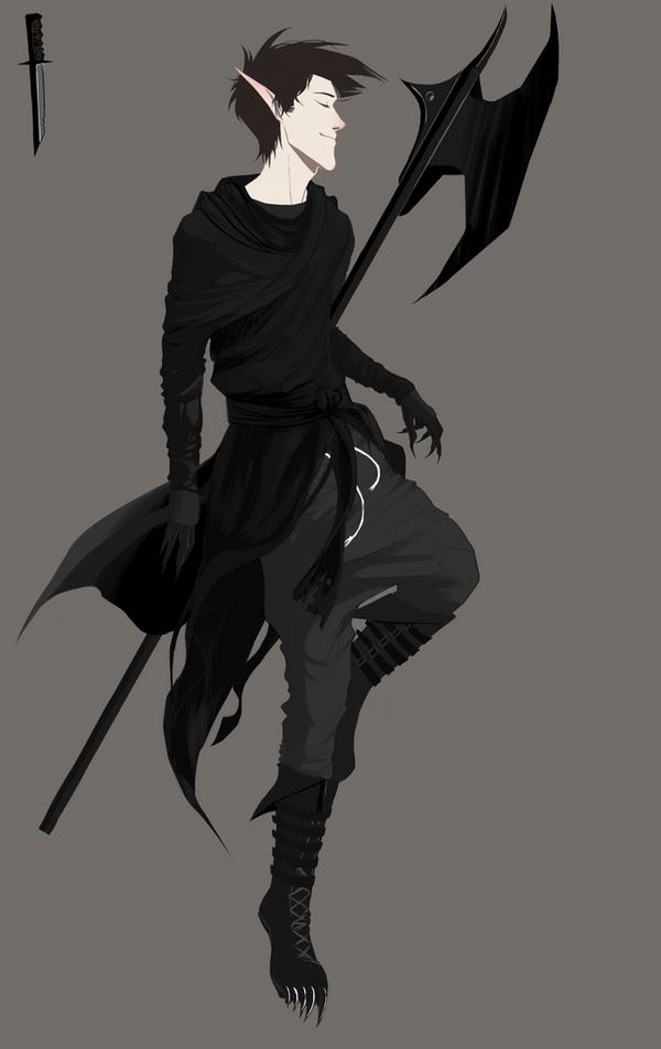 Kkamagi outfit ref by Senkkei