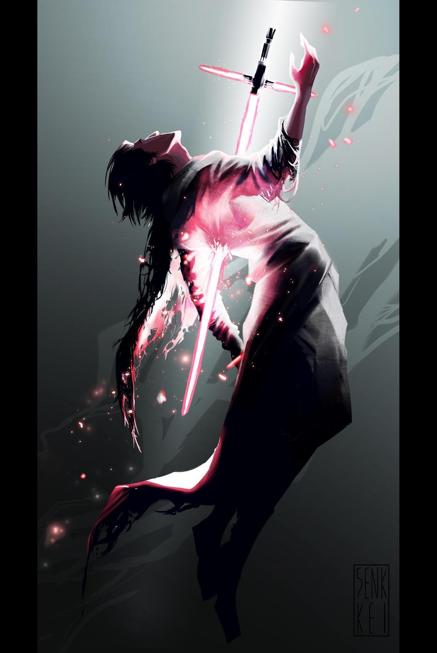 Kylo Ren: Absolution by Senkkei