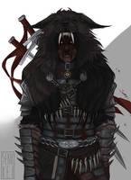 Dawnguard hunter by Senkkei