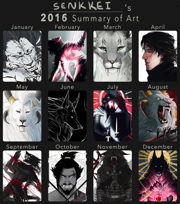 Art Summary 2016 by Senkkei