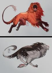 kaimen colour morphs by Senkkei