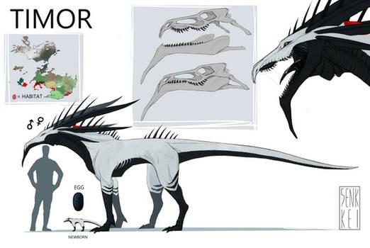 headworld creature: Timor