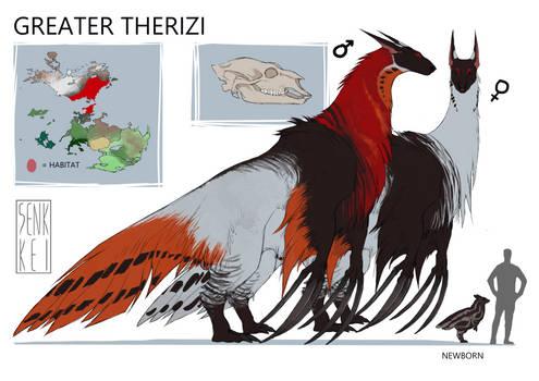 headworld creature: Greater Therizi