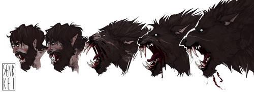 werewolf transformation yeaaaaaaaah babyyyyyyy