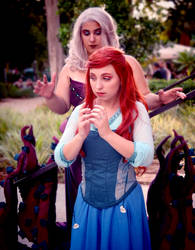 Ariel and Ursula cosplay - The little mermaid by LenaMay-Cosplay