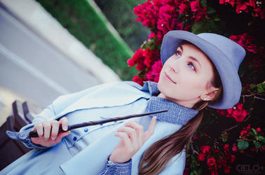Fleur Delacour Cosplay by LenaMay-Cosplay