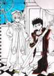 Little Syaoran and Kurogane