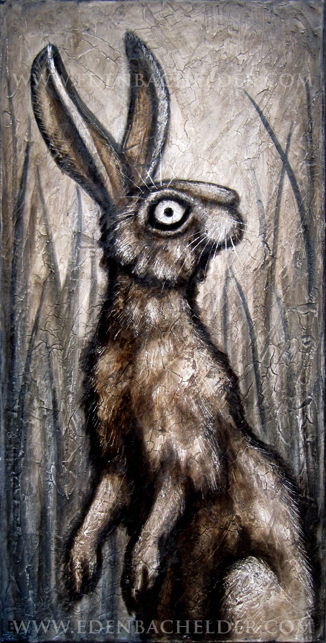 Standing Hare by shmeeden