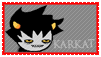 Stamp: Karkat by Shendijiro