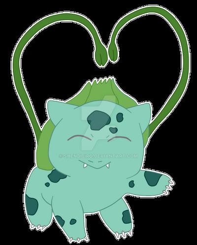 Chibi Bulbasaur by Shendijiro