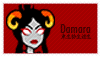 Stamp: Damara by Shendijiro