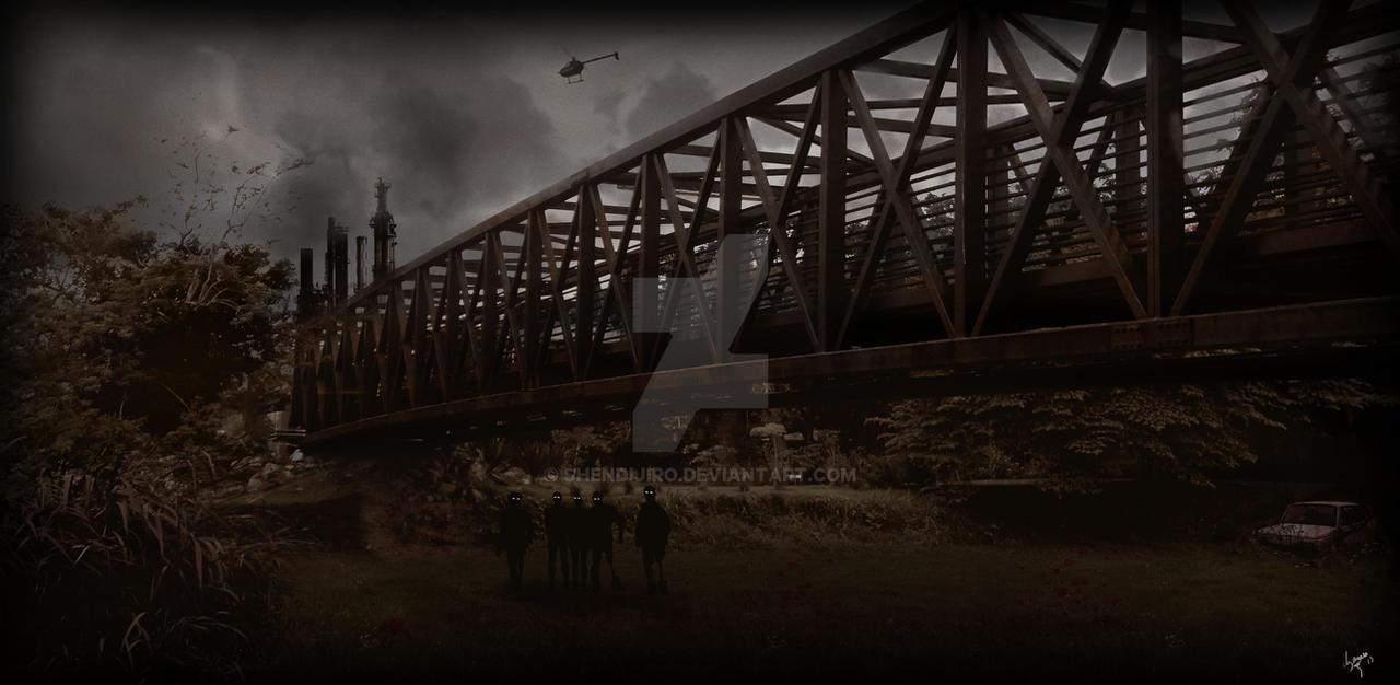Zombie Apocalypse by Shendijiro